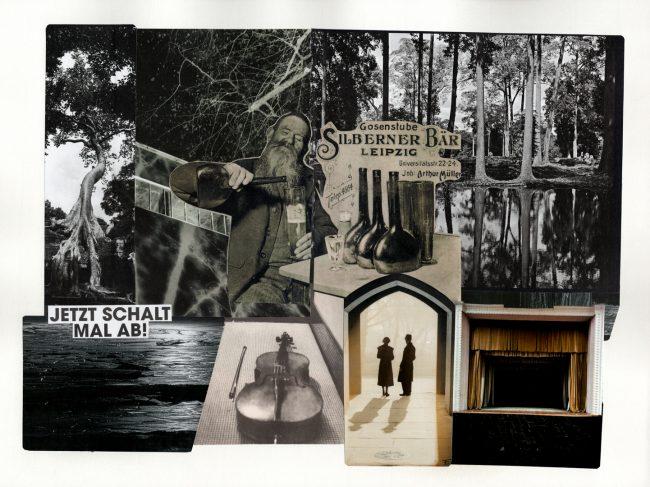 Berlin, Bildcollage, Collage, Zara de Kis, analoge Kunst, cut and paste