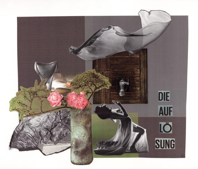 Collage Bildcollage analoge Kunst Berlin
